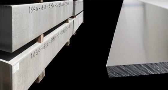 Piastre e placche in alluminio